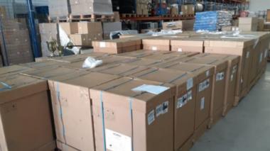 Santa Catarina recebe 20 ventiladores pulmonares para combate à Covid-19